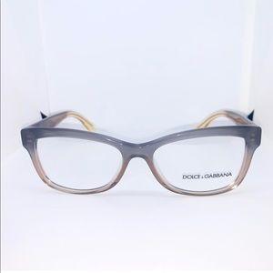 Dolce & Gabbana Grad Brown/Caramel/Yellow Glasses